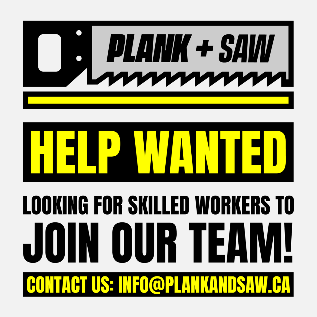 Help Wanted now hiring poster for hardwood flooring jobs in Victoria